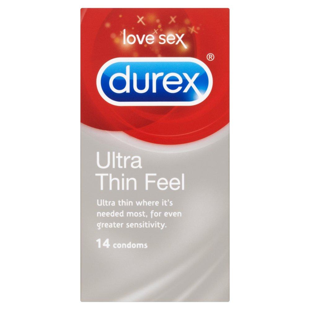 durex ultra thin feel condoms 14 pack durex site uk