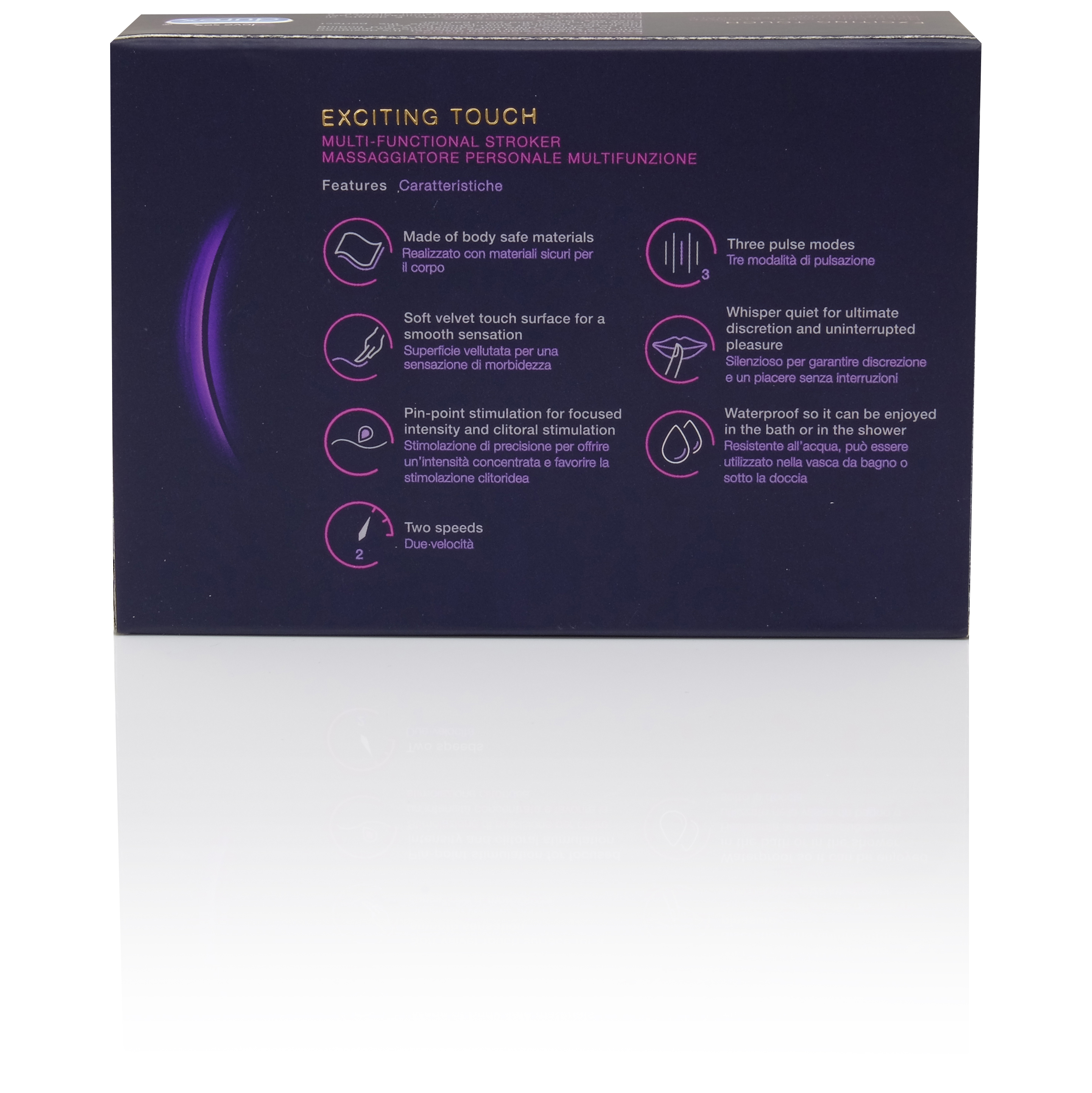 Durex Exciting Touch Stroke Vibrator