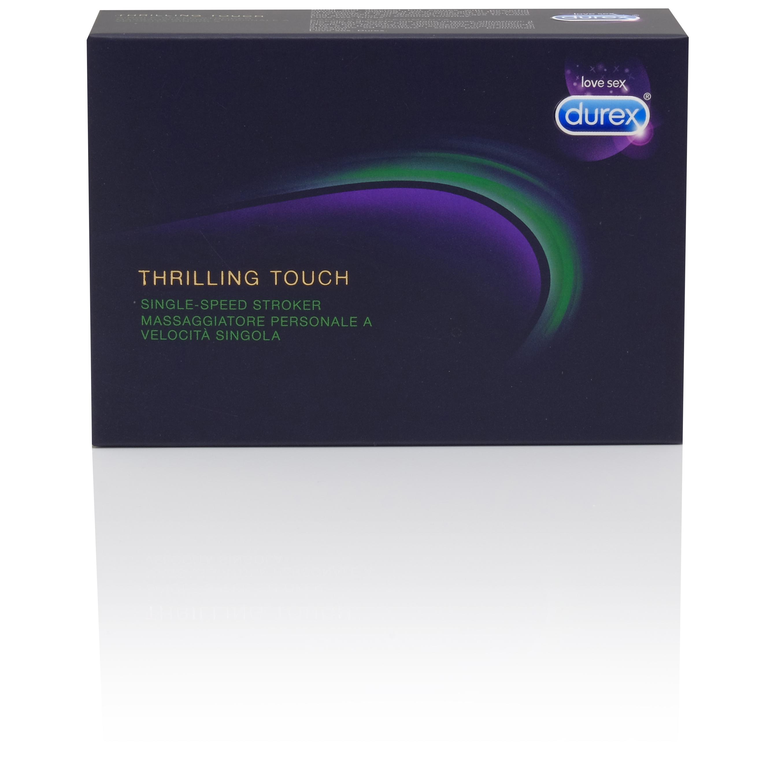 Durex Thrilling Touch Stroker Vibrator