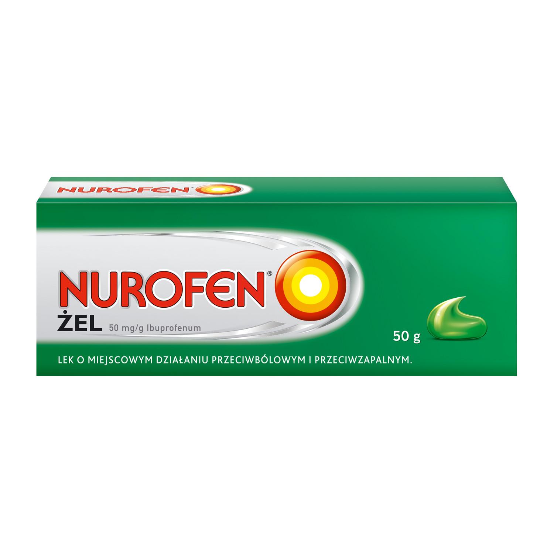 Nurofen Żel (Ibuprofen 50 mg/g)