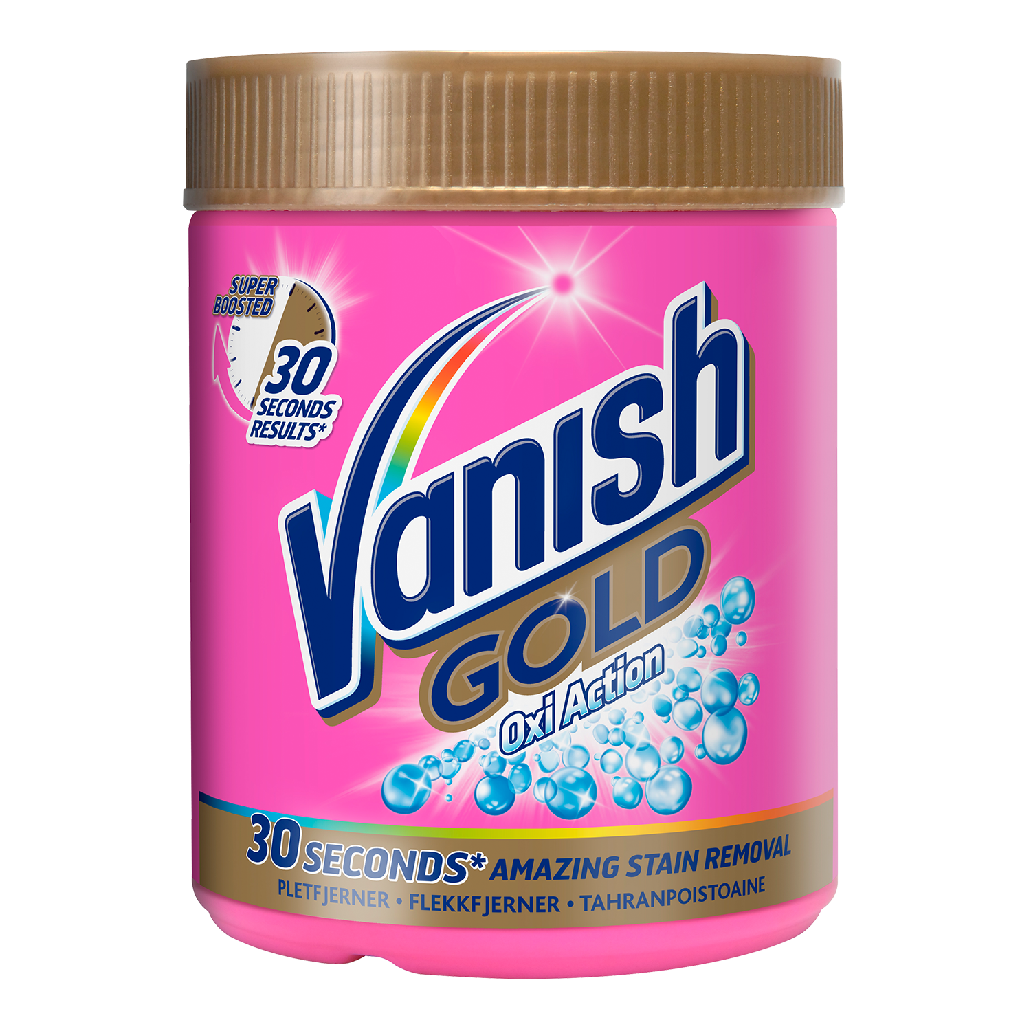 Vanish Gold Oxi Action Pulver