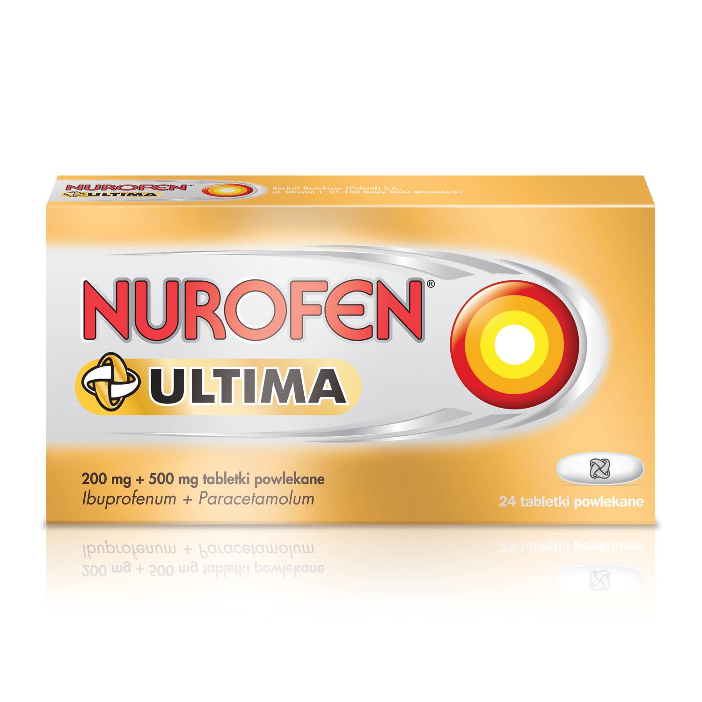 Nurofen Ultima (Ibuprofen 200 mg + paracetamol 500 mg)