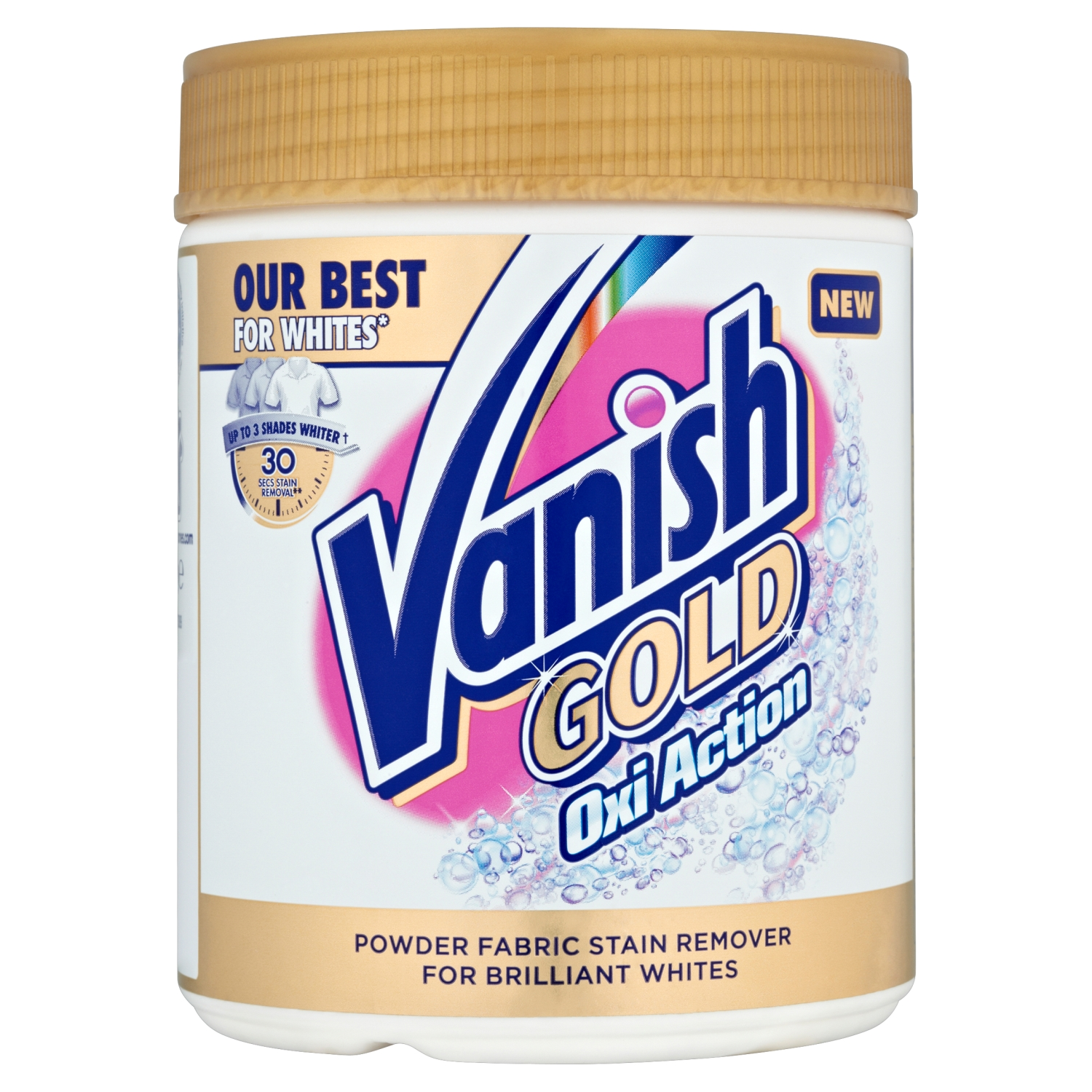 Vanish Gold For Whites Powder Stain Remover Vanish Uk