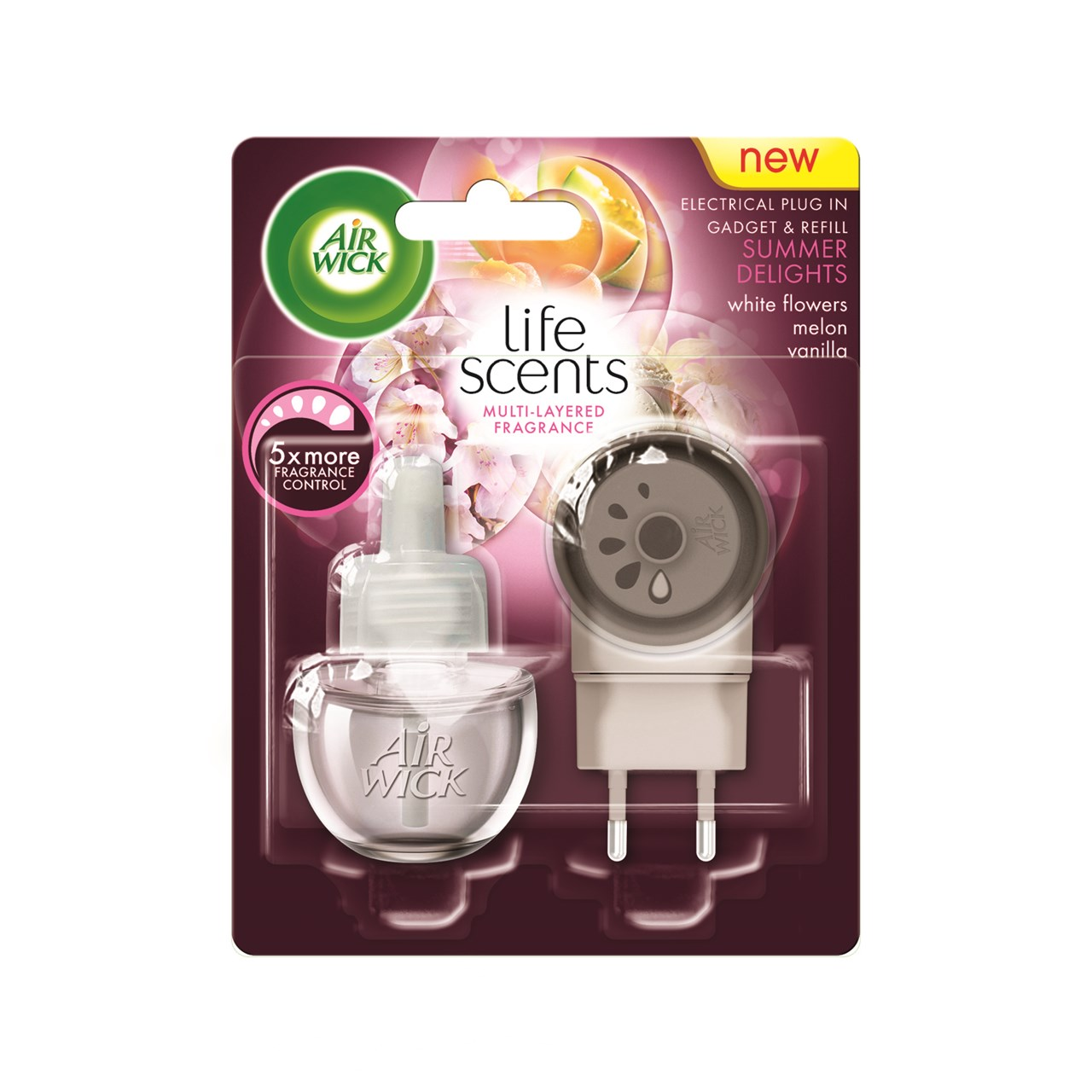 Life Scents Summer Delights Electrical Plug In Gadget & Refill