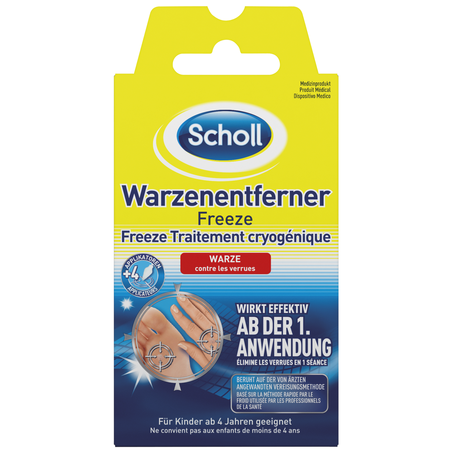 Scholl Warzenentferner Freeze 16 Sticks