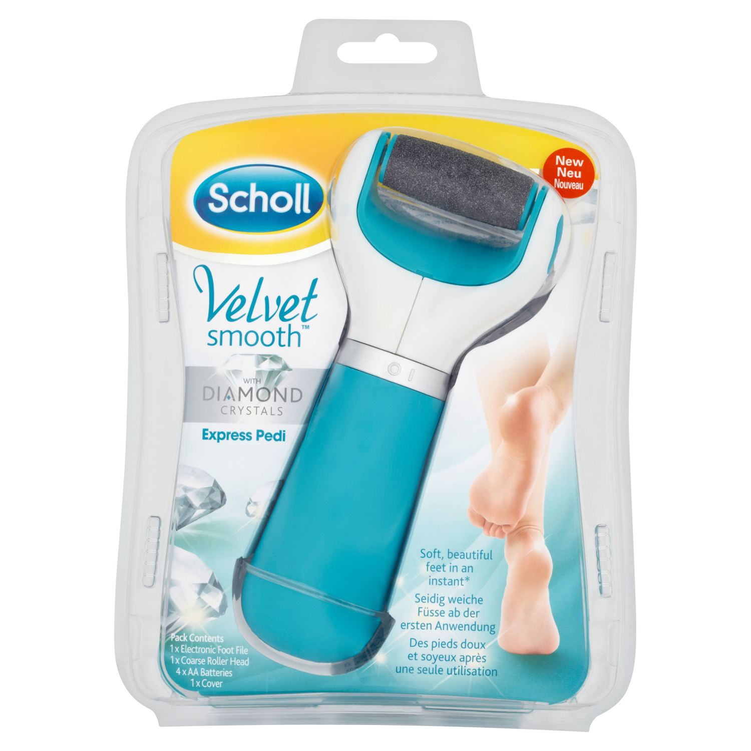 Scholl Diamond Smooth Pedi