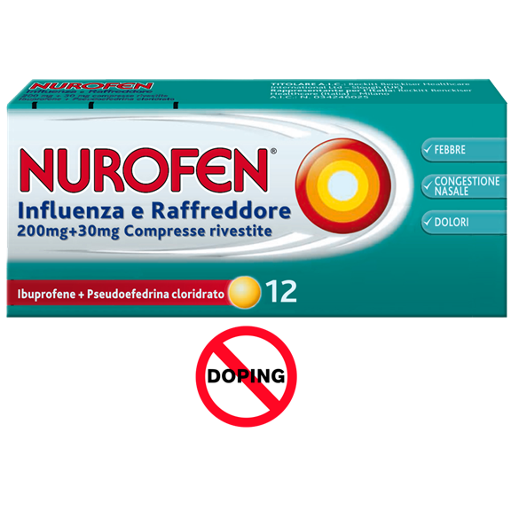 Nurofen Influenza e Raffreddore 200 mg + 30 mg Compresse Rivestite