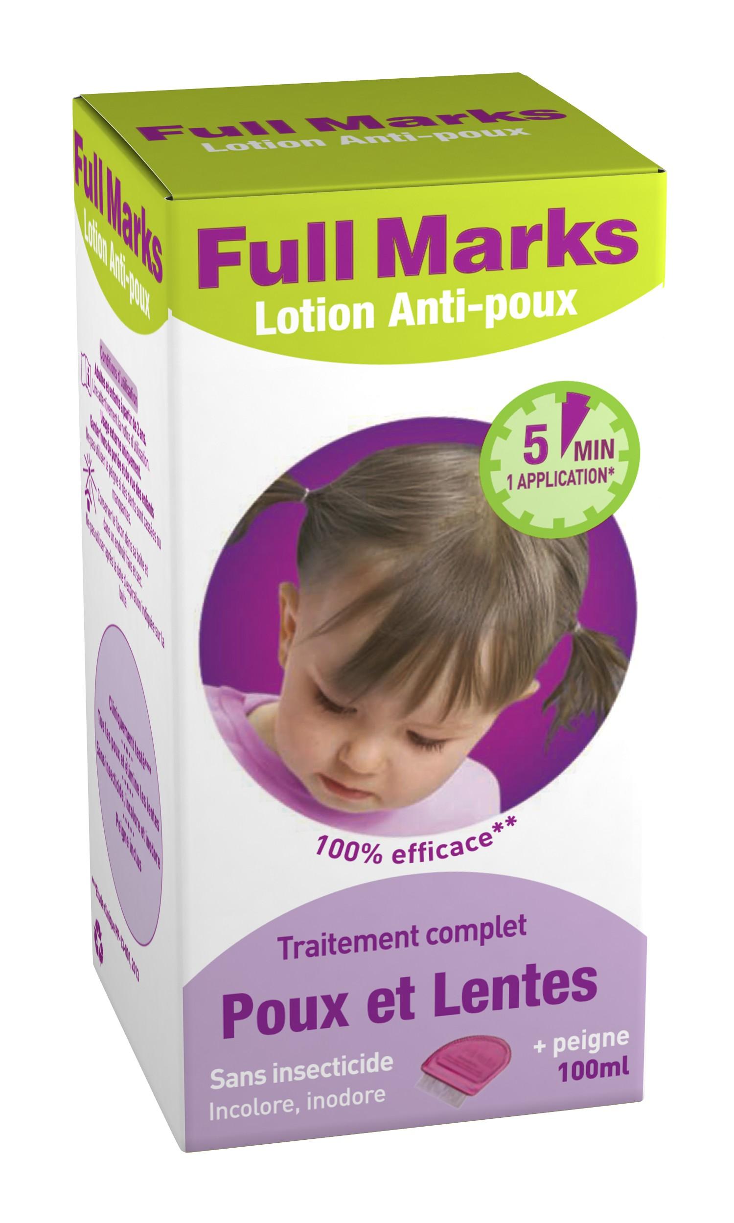 Full Marks Lotion Anti poux