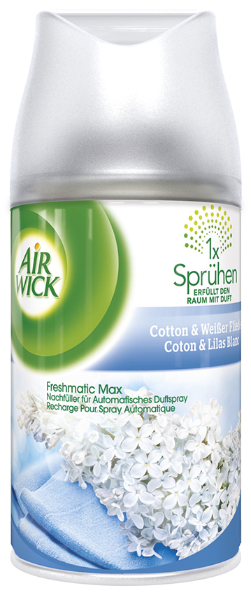 Air Wick Freshmatic Max Nachfueller Cotton & Weisser Flieder