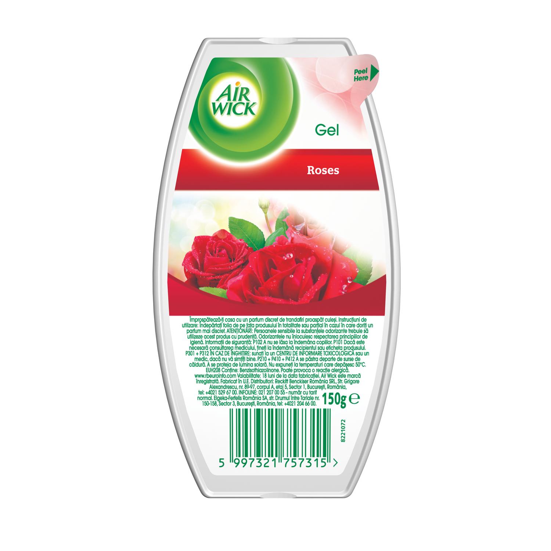 Dišeči gel - osvežilec zraka - Roses