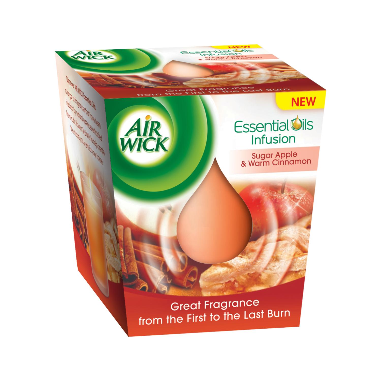 Essential Oils Infusion Candle  - Sugar Apple  Warm Cinnamon