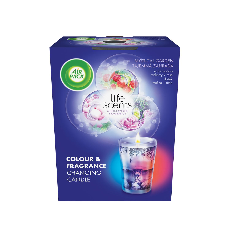 Multicolour svíčka - Tajemná zahrada