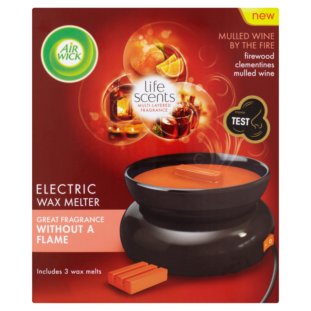 Air Wick Wax Melts Starter Kit Life Scents™ Mulled Wine By The Fire