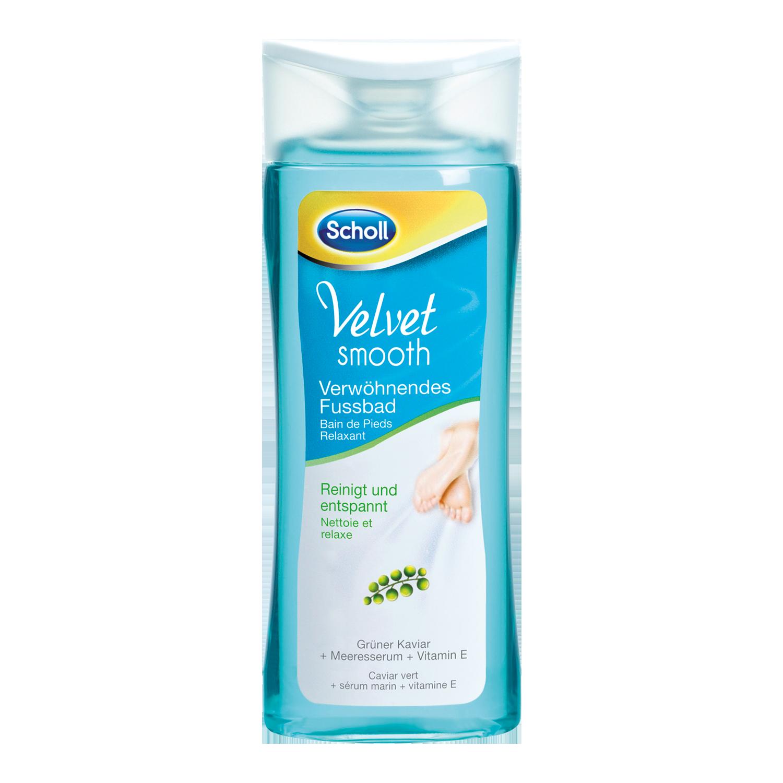 Scholl Velvet Smooth Kúpeľ na nohy 150ml