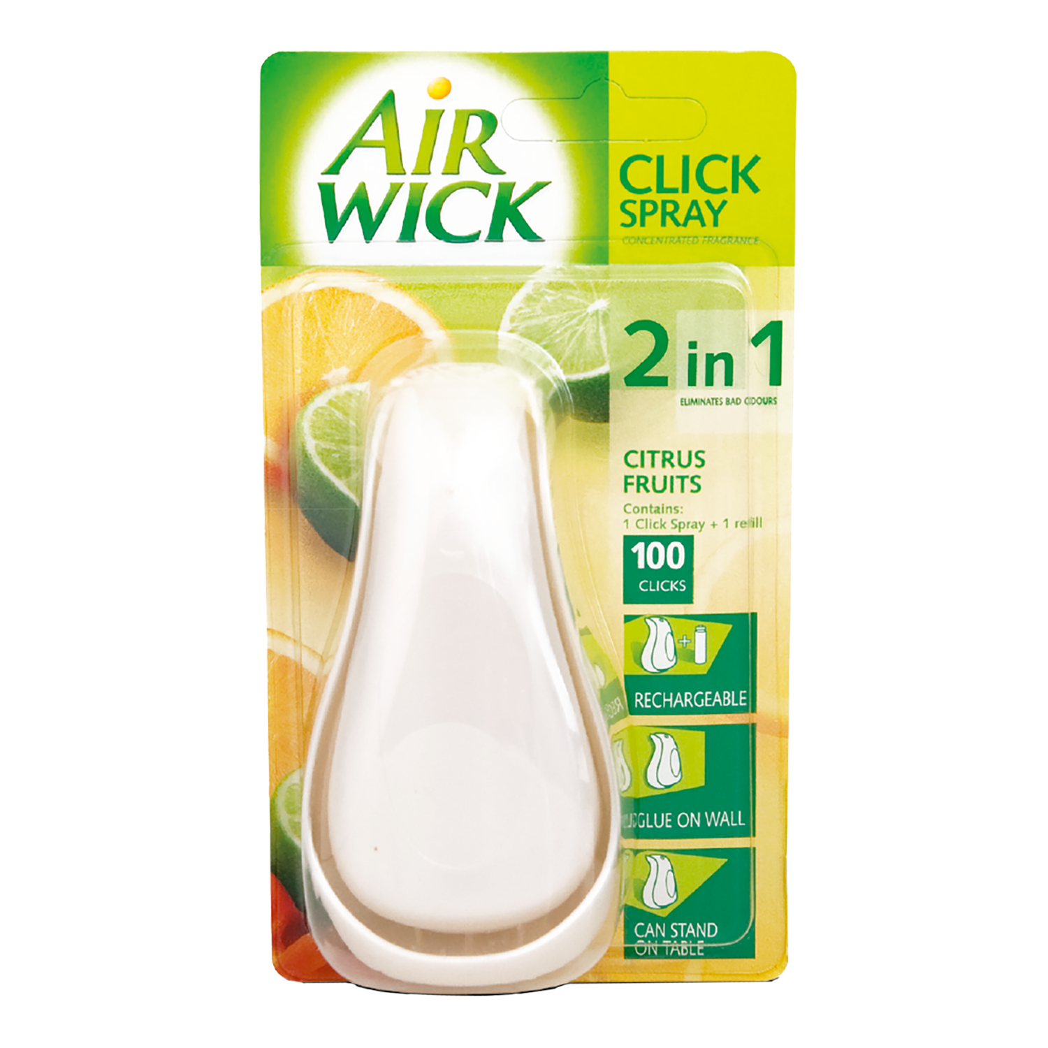 Air Wick Click Spray Starter Kit Citrus Fruits 15 ml