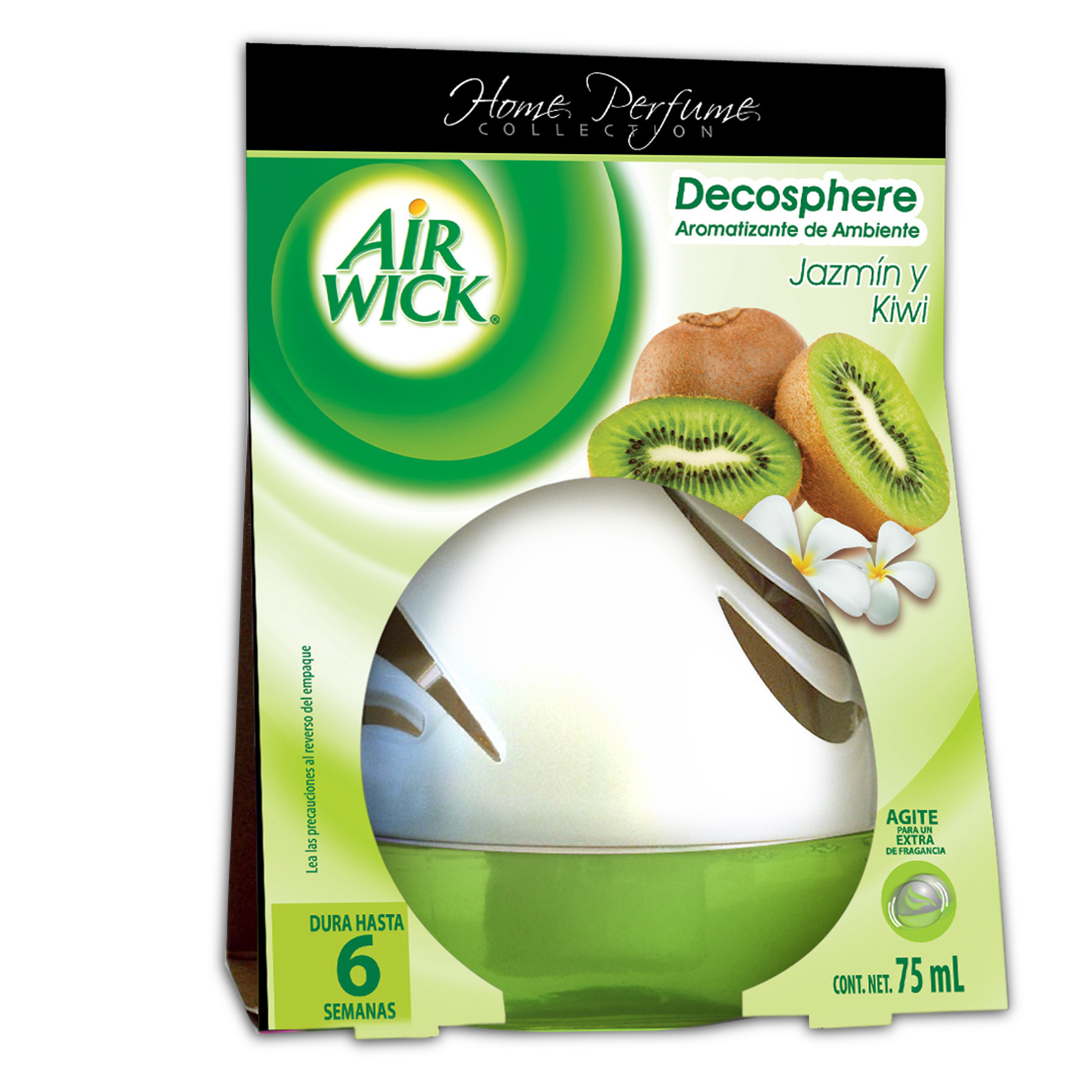 Air Wick® Decosphere® Jazmín & Kiwi 75mL