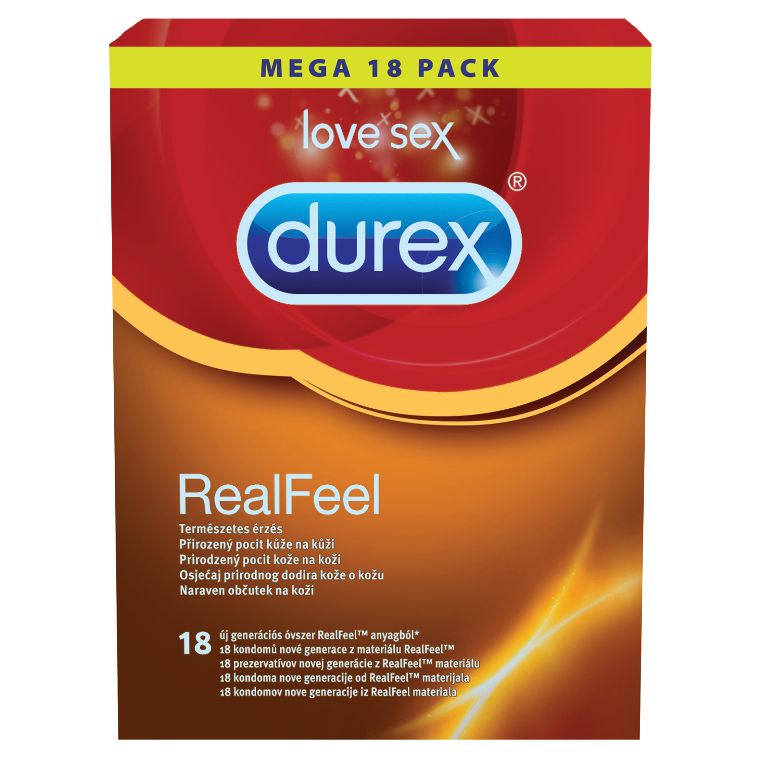 Durex Real Feel 18pcs