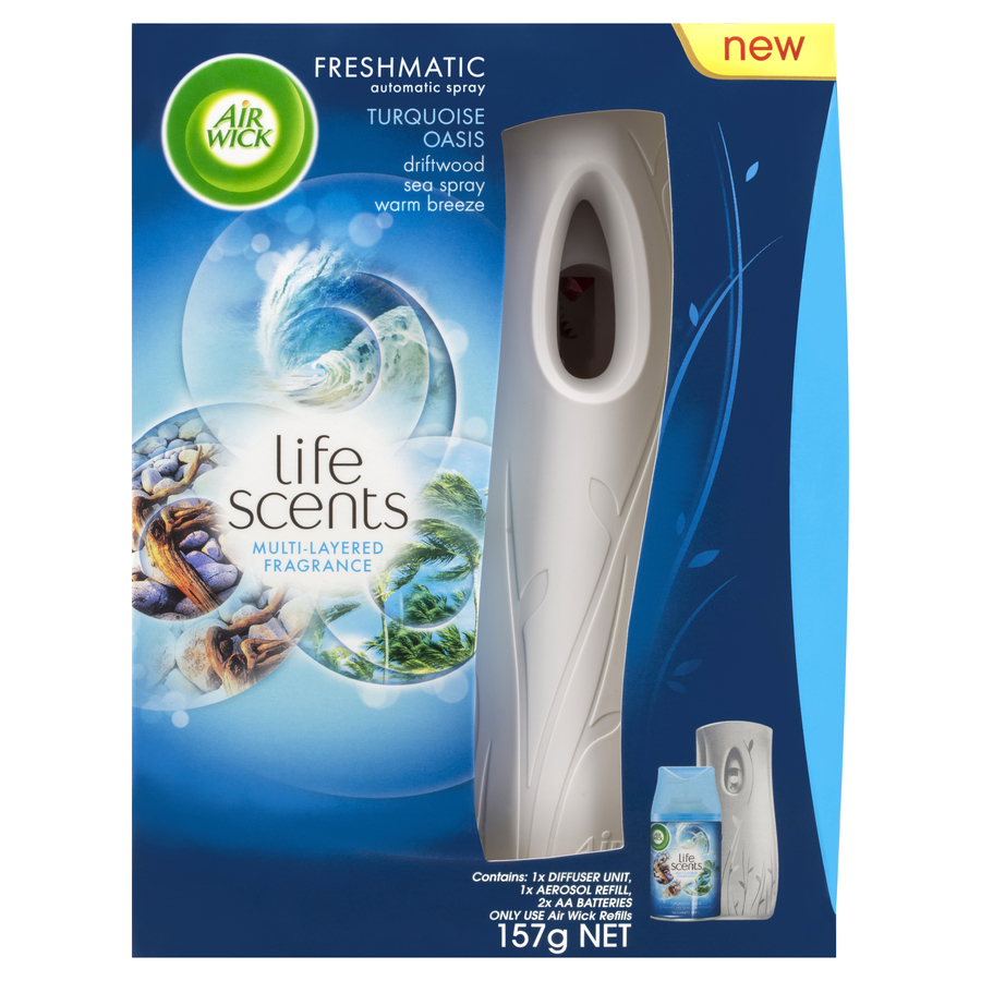 air wick freshmatic how to use