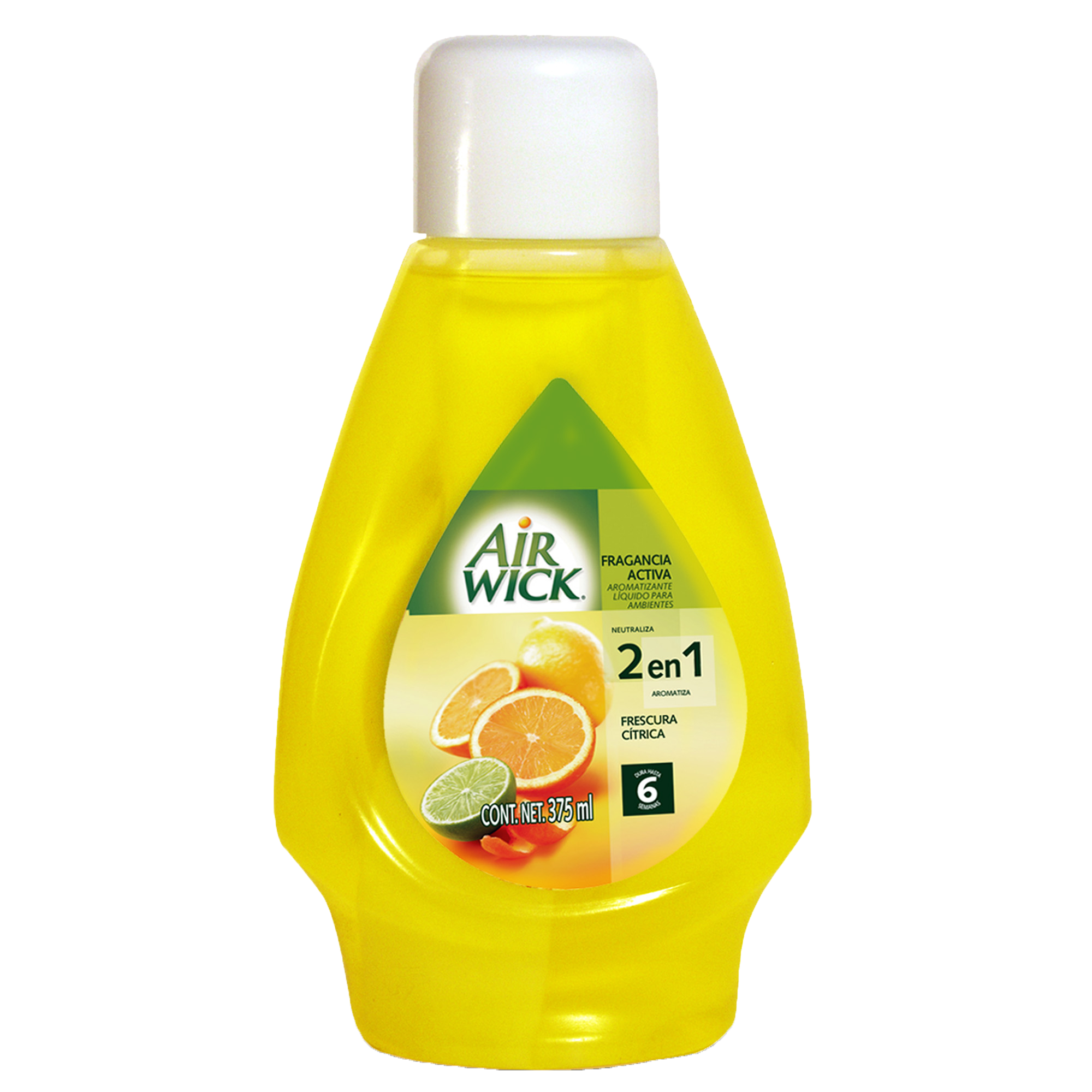 Air Wick® Fragancia Activa Naranja Antitabaco 375 mL
