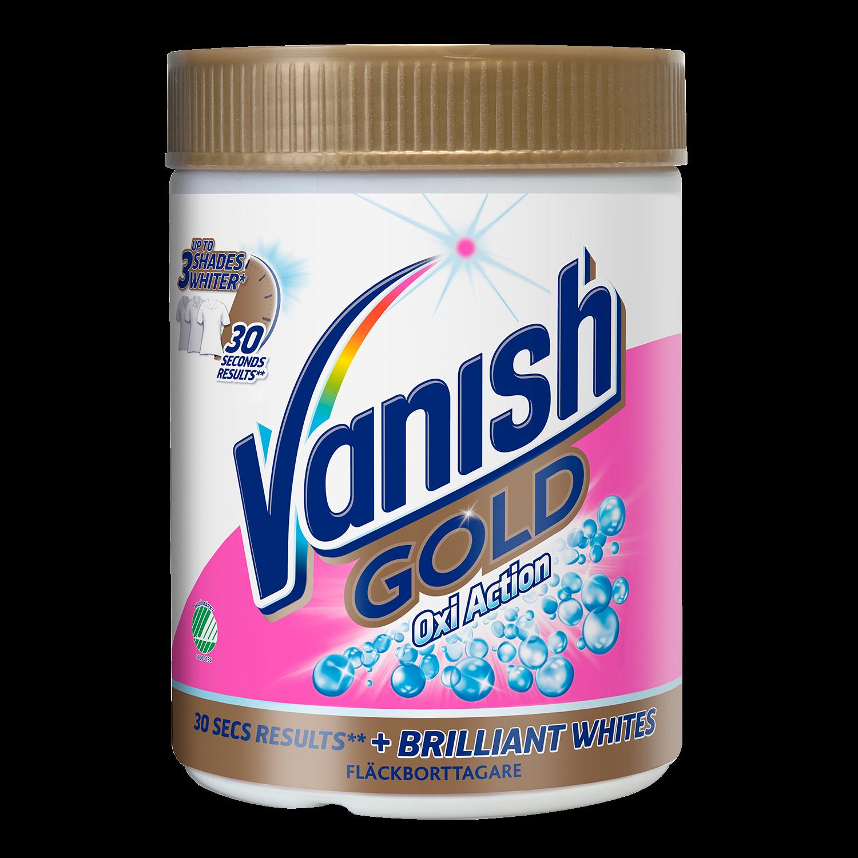 Vanish Gold For Whites Pulver