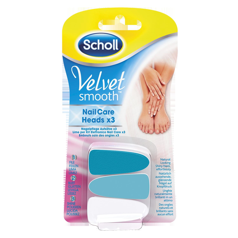 Scholl Velvet Smooth™ Nagelpflege-Aufsätze Pink