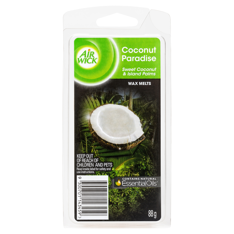 AIR WICK WAX MELTS COCONUT PARADISE