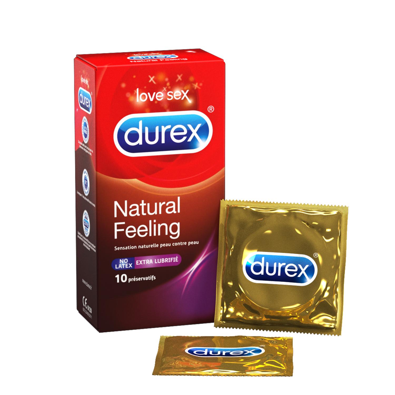 Natural Feeling Extra Lubrifié x10