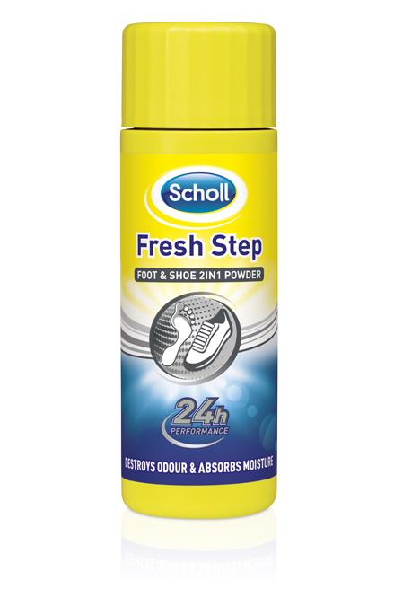Scholl Zásyp na nohy a do bot proti zápachu a pocení 75g