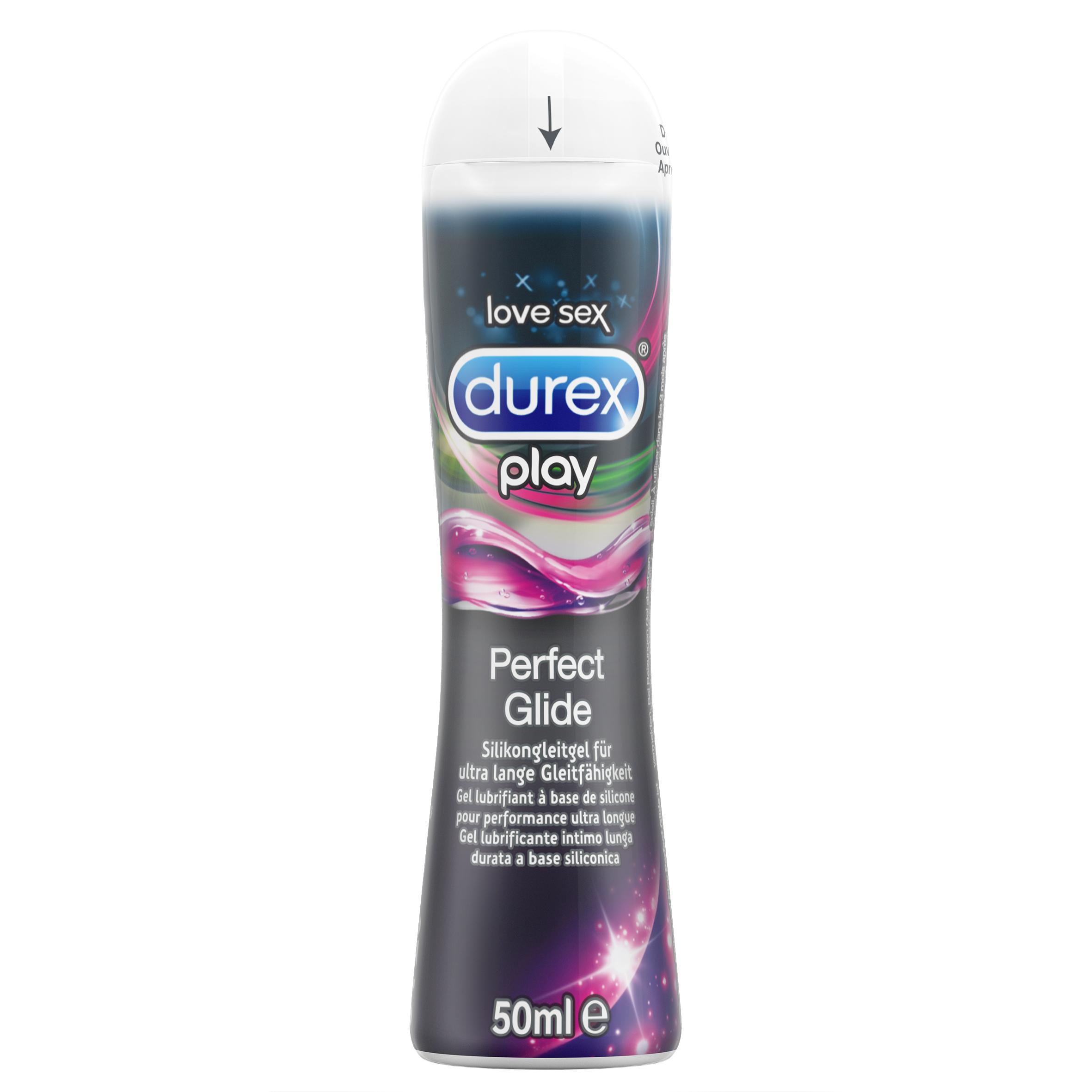 Durex Play Perfect Glide Gleit- und Erlebnisgel, 50ml