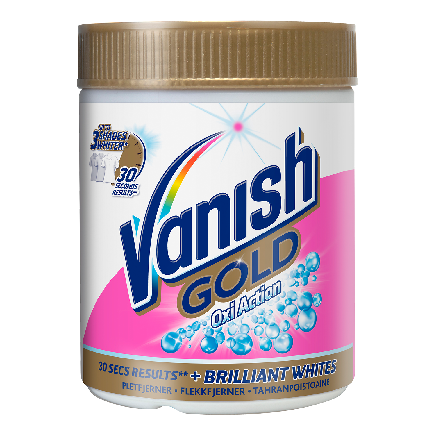 Vanish Gold for Whites Pulver