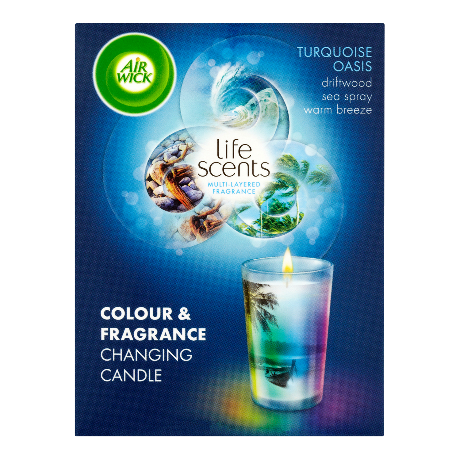 Air Wick Candle Life Scents Turquoise Oasis 140 g