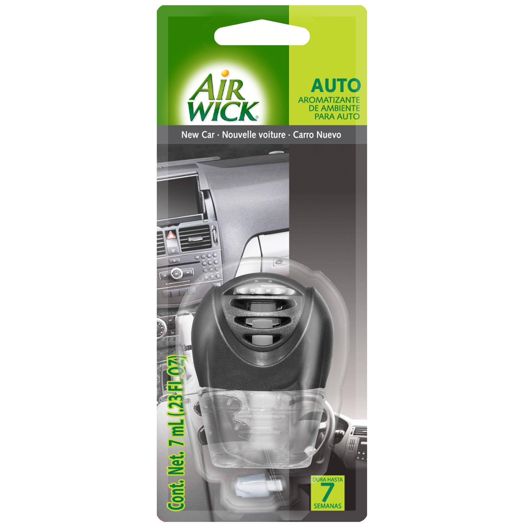 Air Wick® Auto Nuevo Aparato + Repuesto para auto 7 ml