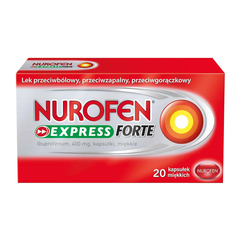 Nurofen Express Forte (Ibuprofen 400mg)