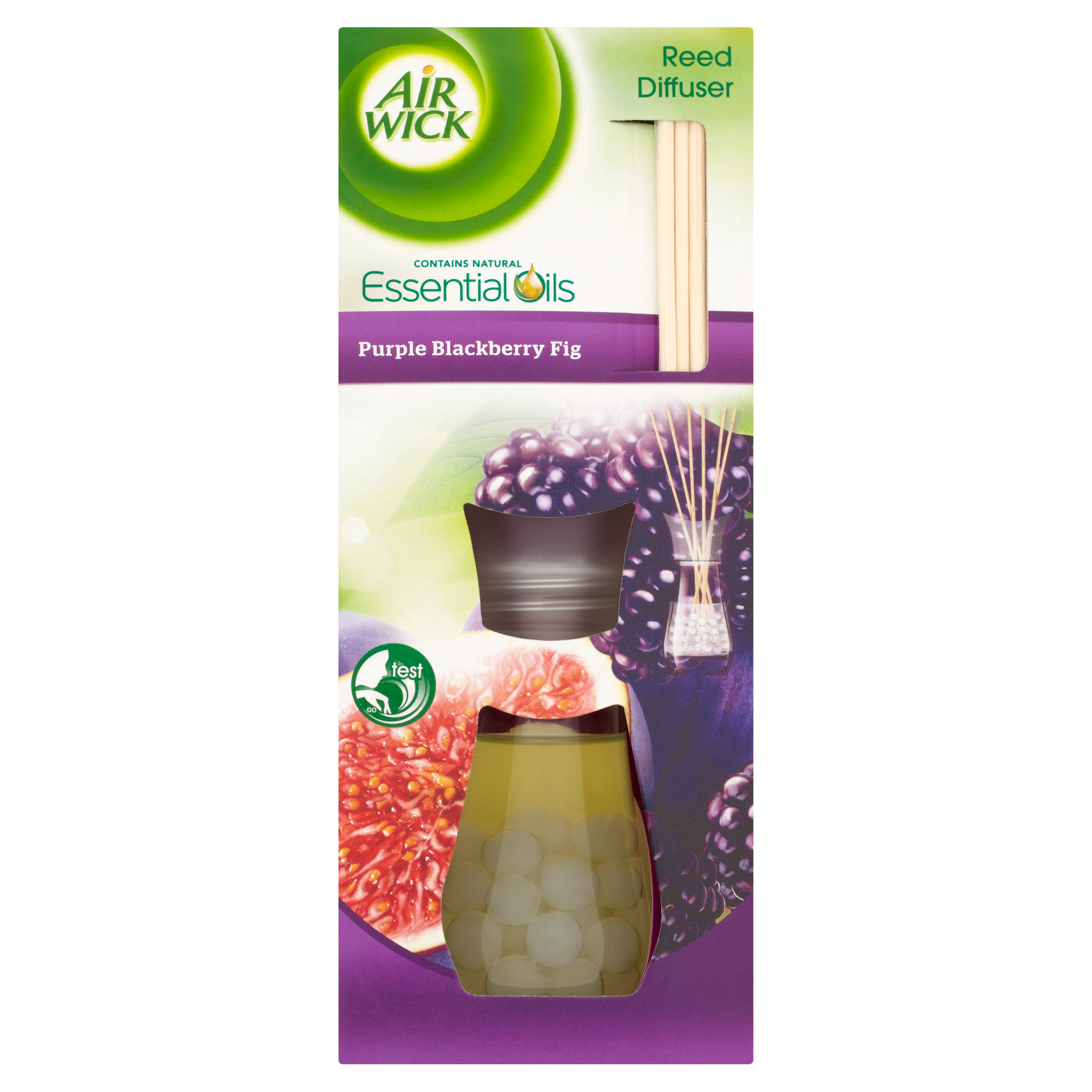 Air Wick 174 Reed Diffuser Purple Blackberry Fig