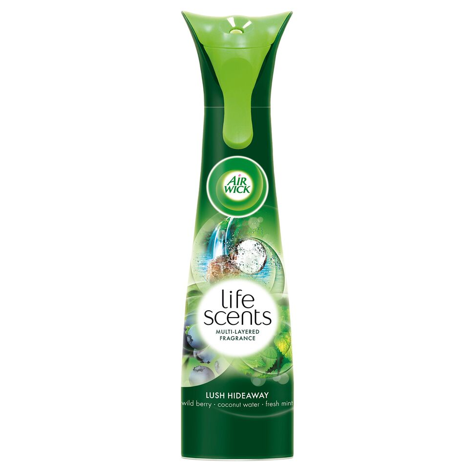 Life Scents Lush Hideaway Room Spray