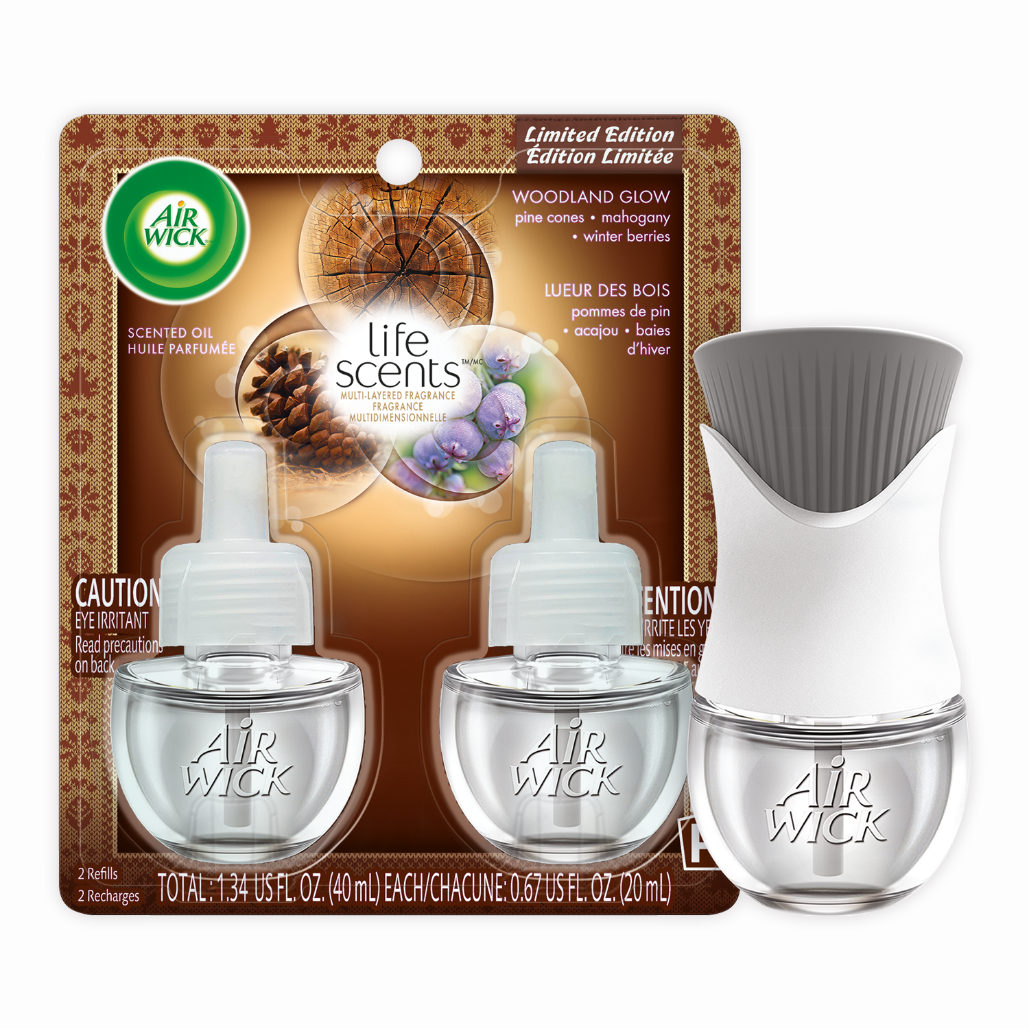 Life Scents™ Woodland Glow Scented Oil