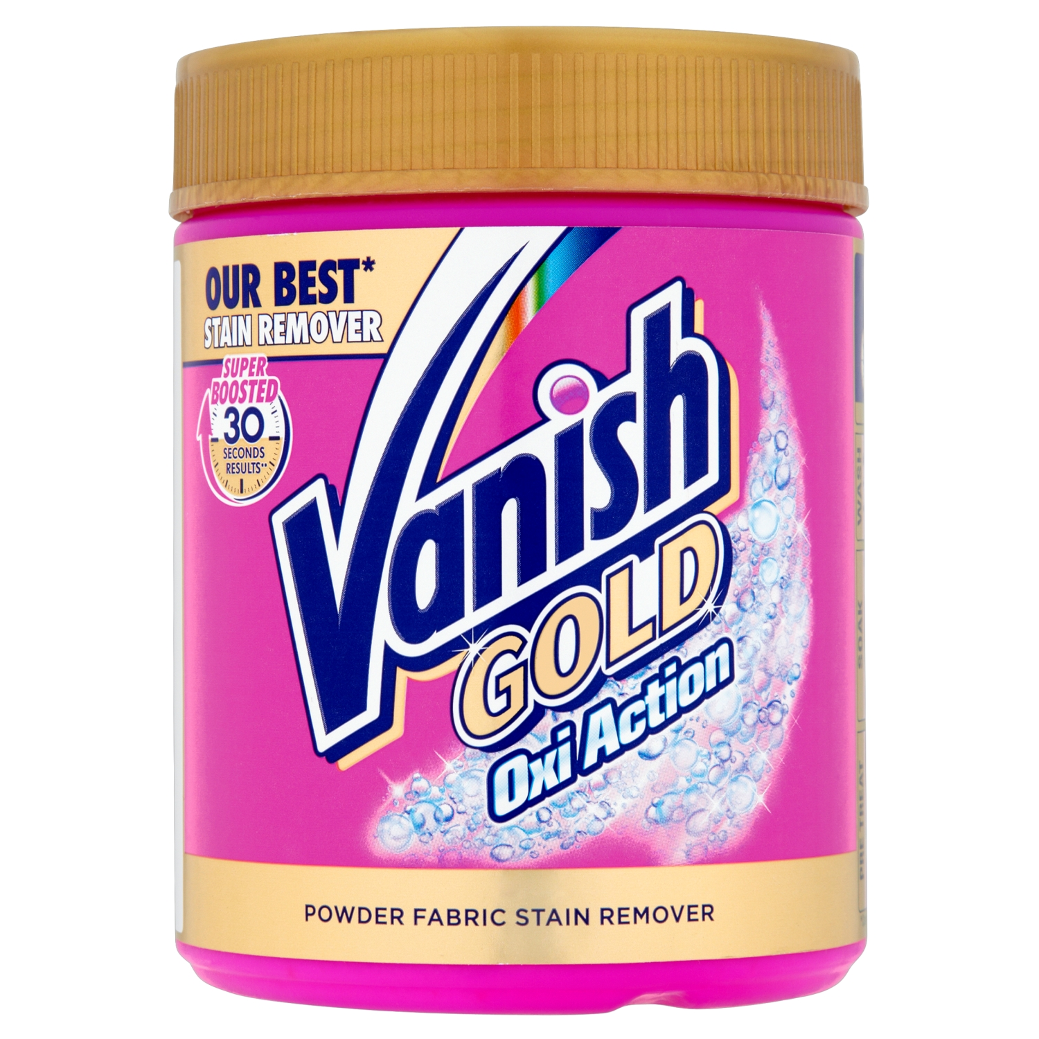 Vanish Gold Oxi Action Powder Stain Remover Vanish Uk