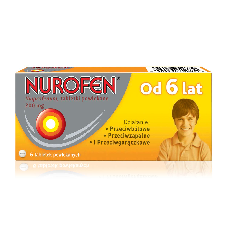 Nurofen dla dzieci (Ibuprofen 200 mg)