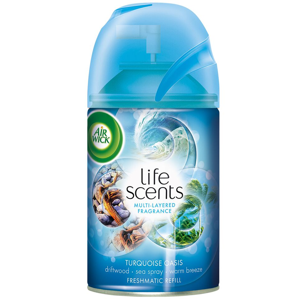 Life Scents Turquoise Oasis Freshmatic Refill