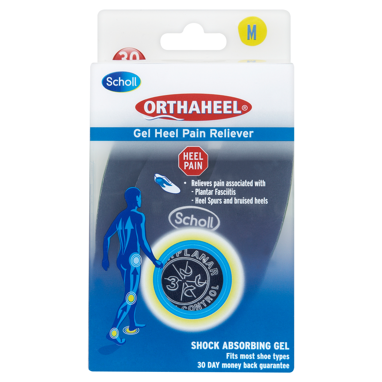 Scholl Biomechanics Orthaheel® Gel Heel Pain Reliever